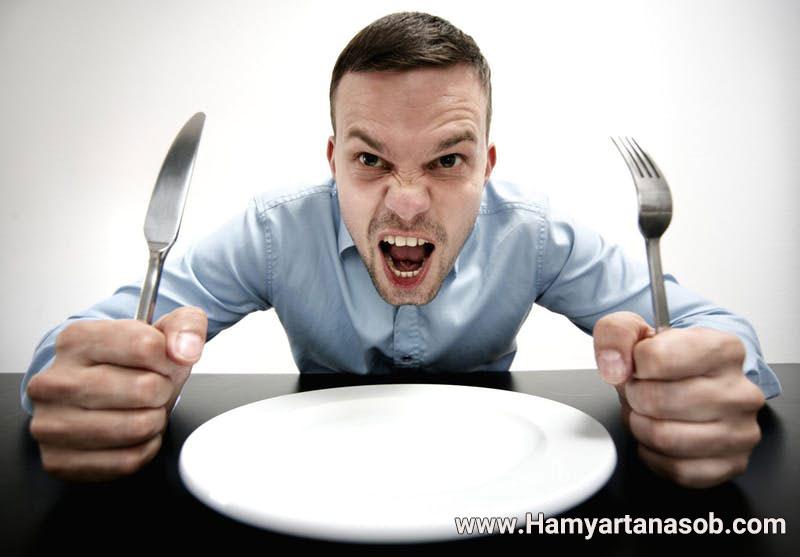 کنترل گرسنگی شدید