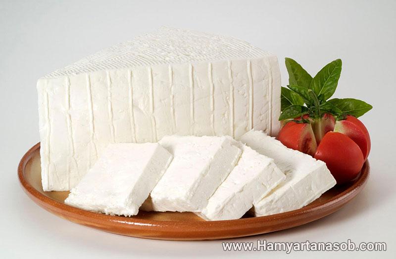 میان وعده پنیر و نان