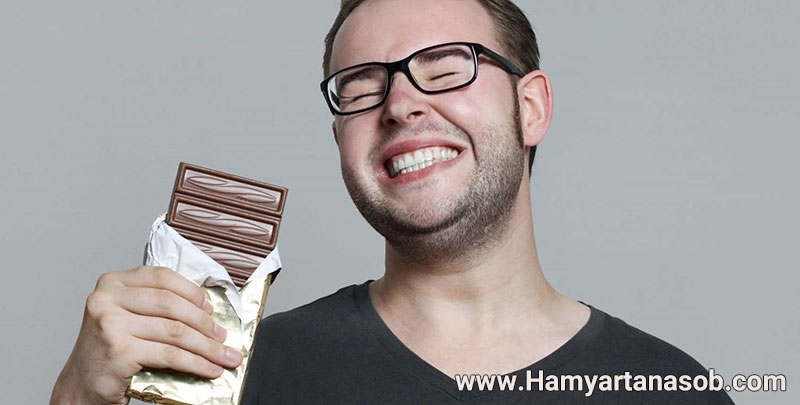 شکلات برای لاغری