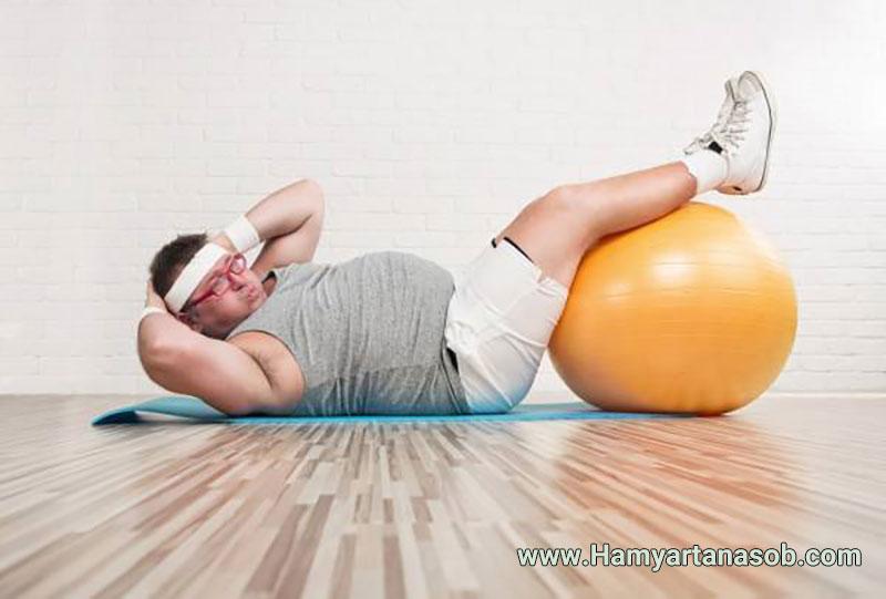 چرا باوجود رعایت رژیم لاغری و انجام ورزش وزن من کاسته نمیشود؟