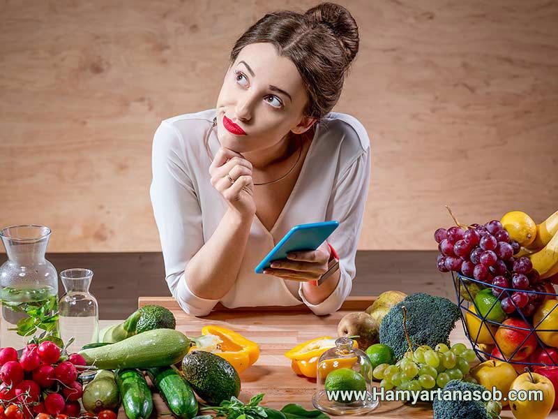 لیست جایگزینی مواد غذایی